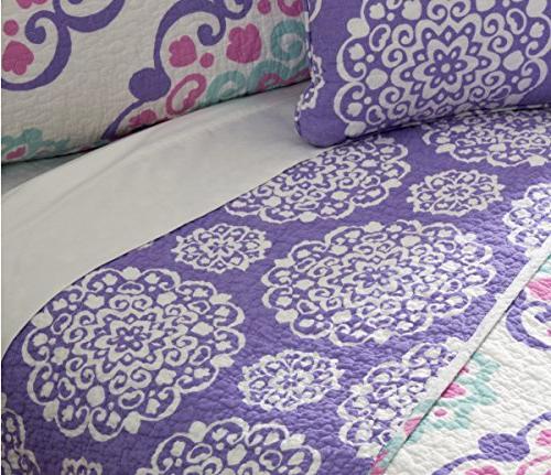 O3 Design Studio Piece Pink/Purple/Aqua,