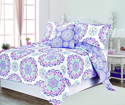 vivian cotton quilt set