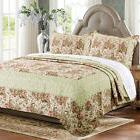 Greenland Home Fashions Voltaire 3 Piece Twin Reversible Qui