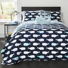 Lush Decor Whale Print 5-piece Quilt Set