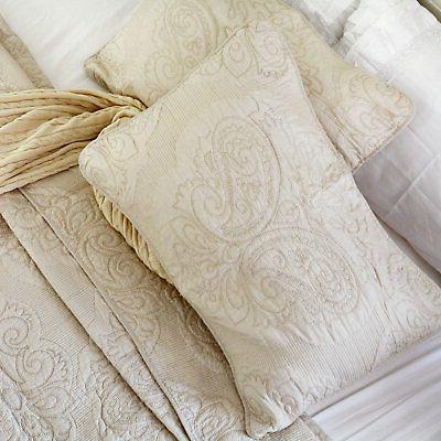 Brandream White Beige Floral Comforter Set Queen