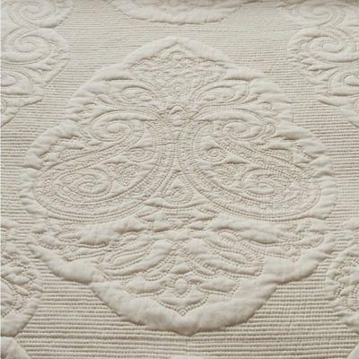 Brandream White Floral Comforter Set Queen Size Quilt Set