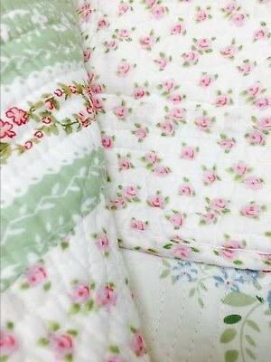 Wild Enchantment Patchwork 100% Bedspread, Coverlet