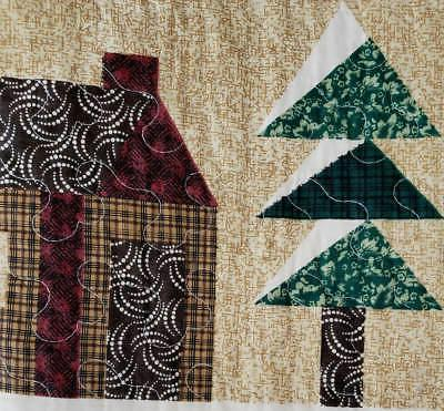 Quilt Set Cabin Bears American Cotton