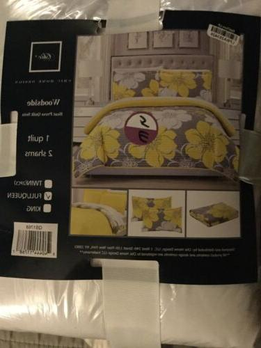 Chic Home Set Full/Queen Yellow