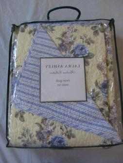 Laura Ashley 2 Pc Twin Quilt Set New