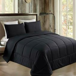 Exclusivo Mezcla Lightweight Reversible 3-Piece Comforter Se