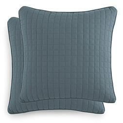Southshore Fine Linens - VILANO Springs - Pair of Quilted Pi