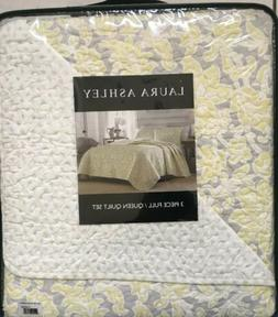 Laura Ashley Linley Quilt Set, Full / Queen  - 32