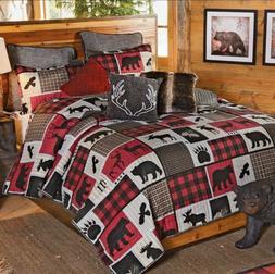 Virah Bella Lodge Life 2pc Twin Quilt Set