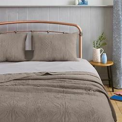 Greenland Home Fashion Lucinda Reversible Quilt Set With Sha