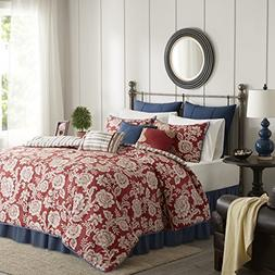 Madison Park Lucy King Size Bed Comforter Set Bed In A Bag -