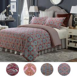 Luxury Bedsure Printed Duvet Cover Set Soft Bedding Set Quee