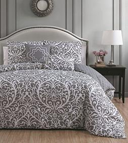 Avondale Manor Madera 5-piece Duvet Cover Set, Full/Queen, G