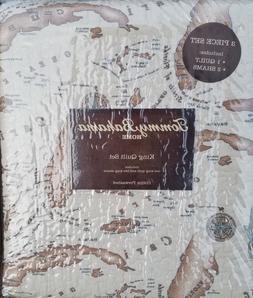 map king quilt set