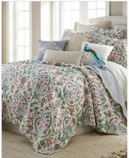 🔥Levtex Home Marisol Luxury Quilt Set Full Queen REVERSIB