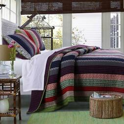 Marley Quilt Set by Greenland Home Fashions