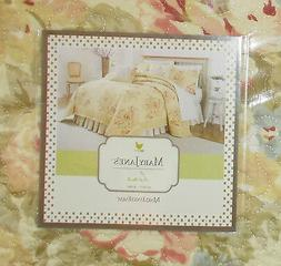 Mary Jane's Home, VINTAGE LACE 6 Piece King Quilt Set NIP **
