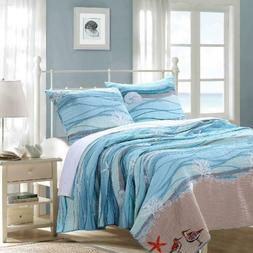 Maui Quilt Set By Greenland Home Fashions