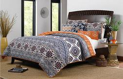Medina Quilt Set, King, Saffron