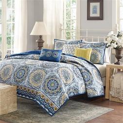 Home Essence Menara Quilted Bedding Coverlet Set