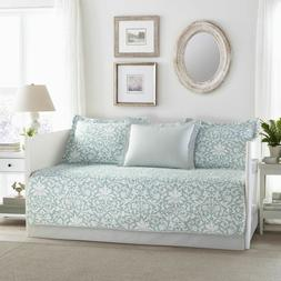 Laura Ashley Mia Daybed Set, Twin, Blue