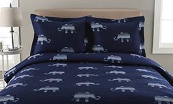 Elite Home Microfiber Whimsical Printed Quilt