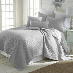MIDWEST NENA SOLID QUILT BEDDING BEDSPREAD COVERLET PILLOW C