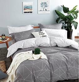 Minimal Style Geometric Shapes Duvet Quilt Cover Modern Scan