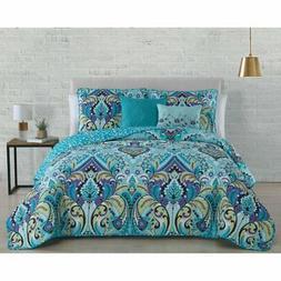 Misha 5 Piece Reversible Quilt Set by Avondale Manor