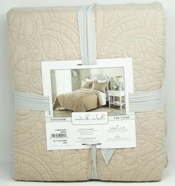Modern Heirloom Benedict Cotton Blend 3-Pc Quilt Set - FULL