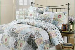 Moorea Reversible Quilt Set, Bedspread, Coverlet