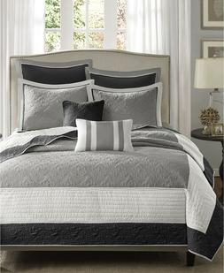Madison Park Attingham Full/Queen Size Quilt Bedding Set - G