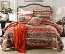 NEW~NewLake CLASSICAL Bedspread Quilt 3 pc Set King Bed~100%