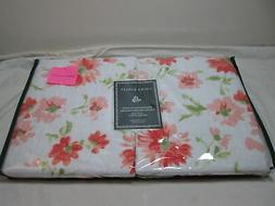 New Laura Ashley Set of Two Standard Quilted Pillow Shams ME