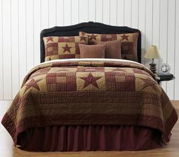 ninepatch star king quilt set