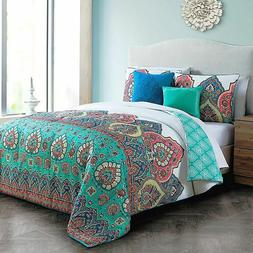 NIP Avondale Manor Livia 100% Polyester 5 Piece Full/Queen Q