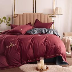 Nordic Style Simple Duvet Cover <font><b>Set</b></font> Soli