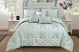 RT Designers Collection Oxford 6 Piece Jacquard Comforter Se