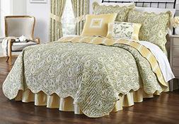 Paisley Verveine Quilt Set  Green 4pc - Waverly®