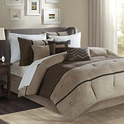 palisades comforter set brown cal