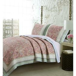 Barefoot Bungalow Palisades Quilt and Sham Set