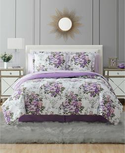 Pem America Floral Bouquet Queen 8PC Comforter Set