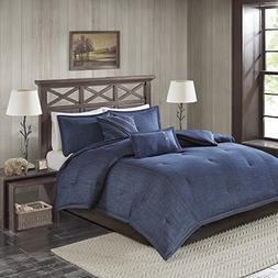 perry oversized denim comforter set