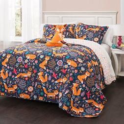 Pixie Fox Quilt Set by Lush Decor