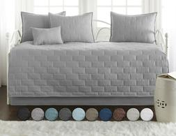 Premium Collection 6-Piece Embroidered Brickyard Solid Daybe