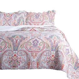 Bedsure 3-Piece Bedding Quilt Set Coverlet Full/Queen Size 8