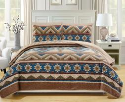 Comforter Bedding Set Queen Size Bed in a Bag Native America
