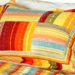 quilt set 3 piece rustic plaid full