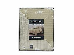 Nautica 3 Pc Quilt Set, King in Ivory